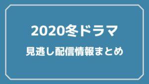 2020冬ドラマまとめ